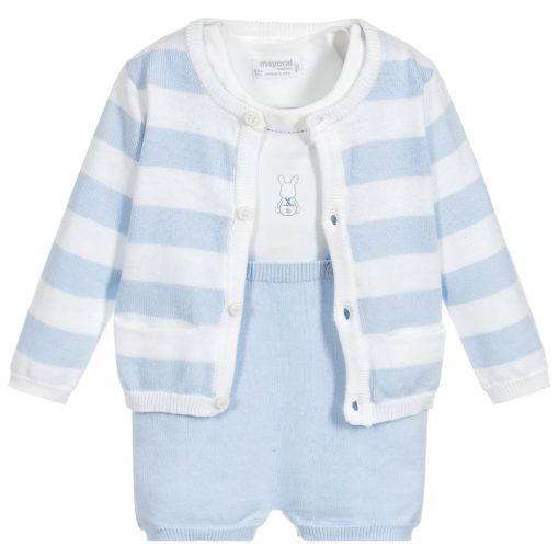 b7f002a64 Troy – Blue Baby Outfit – Little Angel Delights