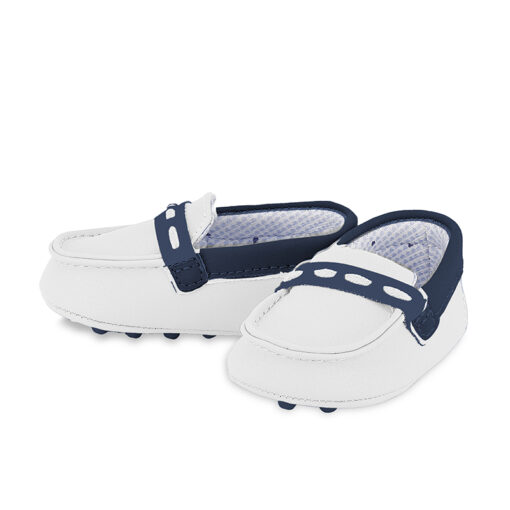 White/Navy Mayoral Loafers