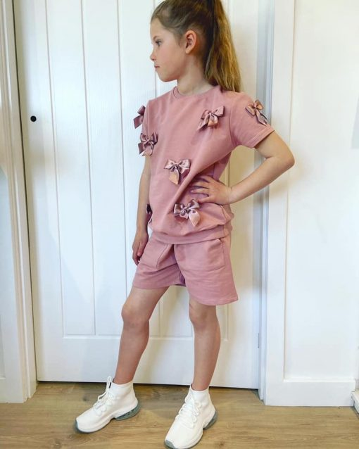 Girls Bow Outfit