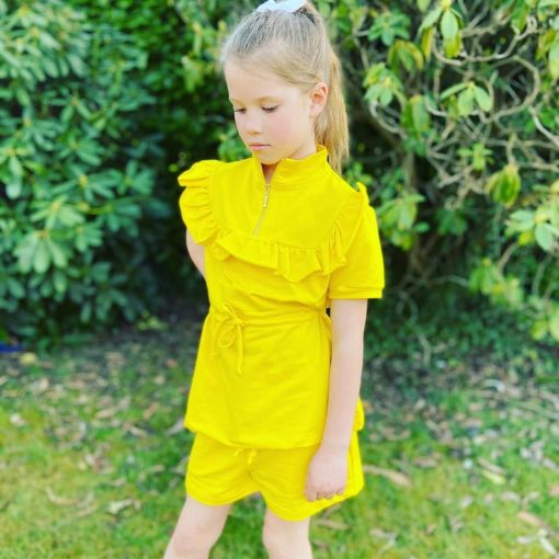 Girls Yellow Outfit