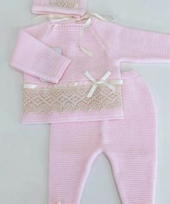 Pink Knitted Outfit
