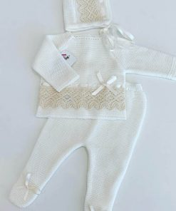 Cream Knitted Outfit