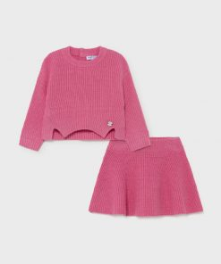 Mayoral Girls Knitted Outfit