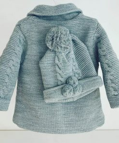 Grey Knitted Coat